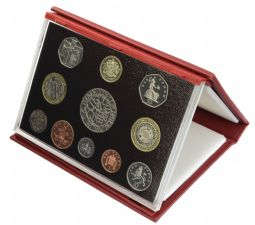 2003 Proof set red Leather deluxe for sale